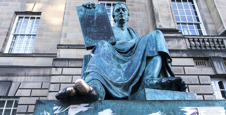 Statue of Hume